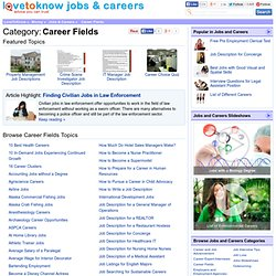 Career Fields | LoveToKnow