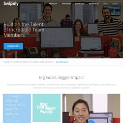 Jobs and Career Opportunities at Swipely