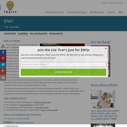 ENFJ Career Success: Choose the Right Job and Put Your ENFJ Strengths to Work