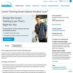 Career Training Loans - Trade School & Career Loans - Sallie Mae