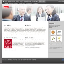 Adecco Group USA website
