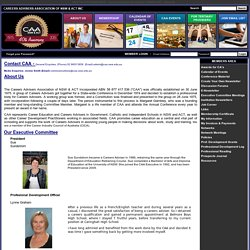 About Us : Careers Advisors Association of NSW & ACT