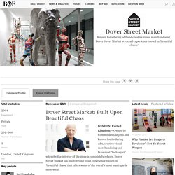 Dover Street Market's Page
