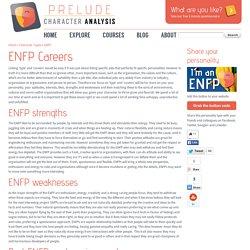 ENFP Careers