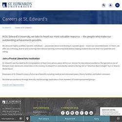 St. Edward's University in Austin, Texas
