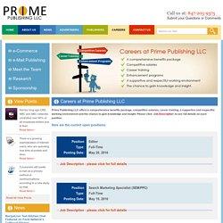 Careers at Prime Publishing LLC « Prime Publishing LLC