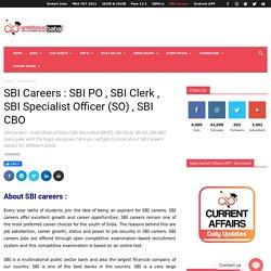 SBI Career
