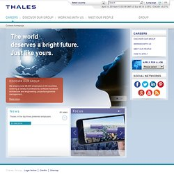 Home - Jobs at Thales Group