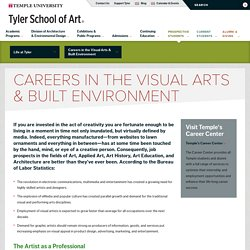 Careers in the Visual Arts & Built Environment