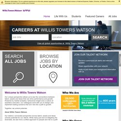 Towers Watson (Graduate Programmes and Internships Worldwide)