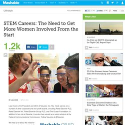 STEM Careers: The Need to Get More Women Involved From the Start