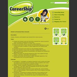 CareerShip: Careers