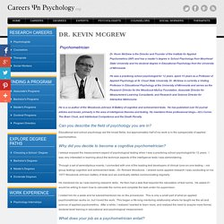 Careers In Psychometrics