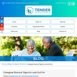 Caregiver Burnout: Signs to Look Out For