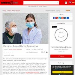 Caregiver Support During Coronavirus