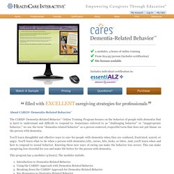 Online Dementia Training for Caregivers - HealthCare Interactive