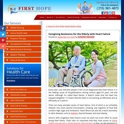 Caregiving Assistance for the Elderly with Heart Failure