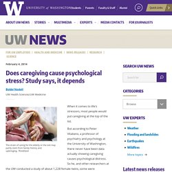 Does caregiving cause psychological stress? Study says, it depends