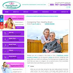 Caregiving Tips: Healthy Brain