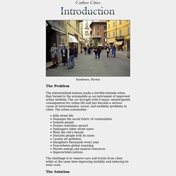 Cities: Introduction