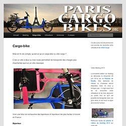 Paris Cargo Bikes