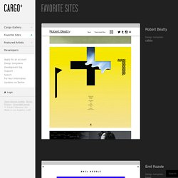 Cargo - Favorite Sites