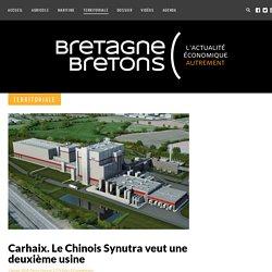 Carhaix. Le Chinois Synutra veut une deuxième usine