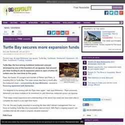 Turtle Bay Caribbean restaurant UK expansion