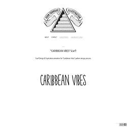"""CARIBBEAN VIBES"" Scarf! - Joan Tarrago"