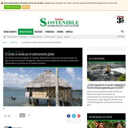 El Caribe se hunde por el calentamiento global