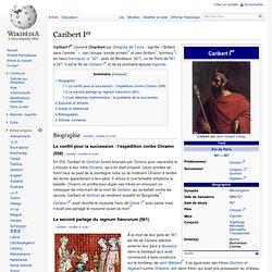 Caribert Ier (561-567)