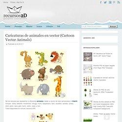 Caricaturas de animales en vector (Cartoon Vector Animals