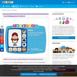 Pocoyízate: caricaturas infantiles y avatares personalizados