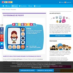Caricaturas infantiles y avatares - fotos perfil - Pocoyizate