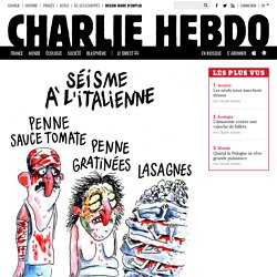 LA CARICATURE DE CHARLIE HEBDO EXPLIQUÉE À MA MÈRE