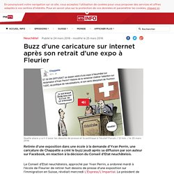 Buzz d'une caricature sur internet après son retrait d'une expo à Fleurier - rts.ch - Neuchâtel