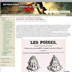 Les Poires (1831), LA fameuse caricature du 19ème s. de Philipon...