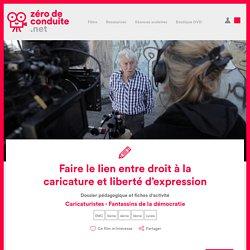 Faire le lien entre droit à la caricature et liberté d'expression