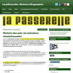 Histoire des arts : la caricature révolutionnaire - La p@sserelle -Histoire Géographie-