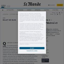 «Le Monde des lecteurs» - Caricatures : respect d'autrui et liberté d'expression