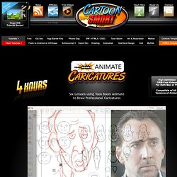 Caricatures Illustration Tutorial using Toon Boom Animate