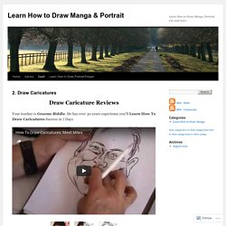 Learn How to Draw Manga & Portrait