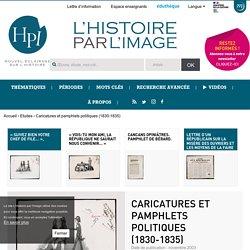 Caricatures et pamphlets politiques (1830-1835)