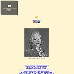 "Caricatures de Talleyrand dans ""La Caricature"""