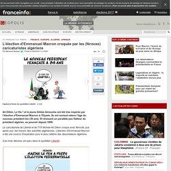 L'élection d'Emmanuel Macron croquée par les (féroces) caricaturistes algériens