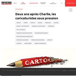 Deux ans après Charlie, les caricaturistes sous pression
