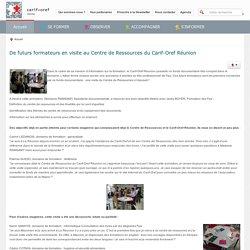 CARIF-OREF Réunion - CARIF-OREF Réunion