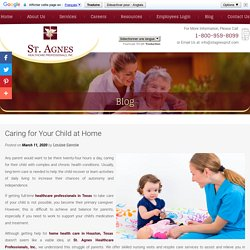 Caring for Your Child at Home