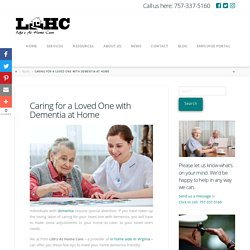 Caring for a Loved One with Dementia at Home