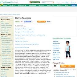 Caring Teachers